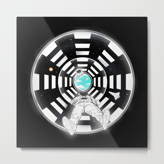 Find Your Way (Up) Metal Print