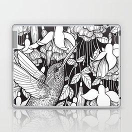 Hummingbird and fuchsia Laptop & iPad Skin
