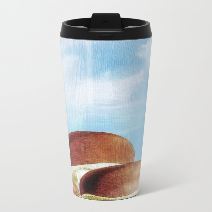 Mushroom Heaven Metal Travel Mug