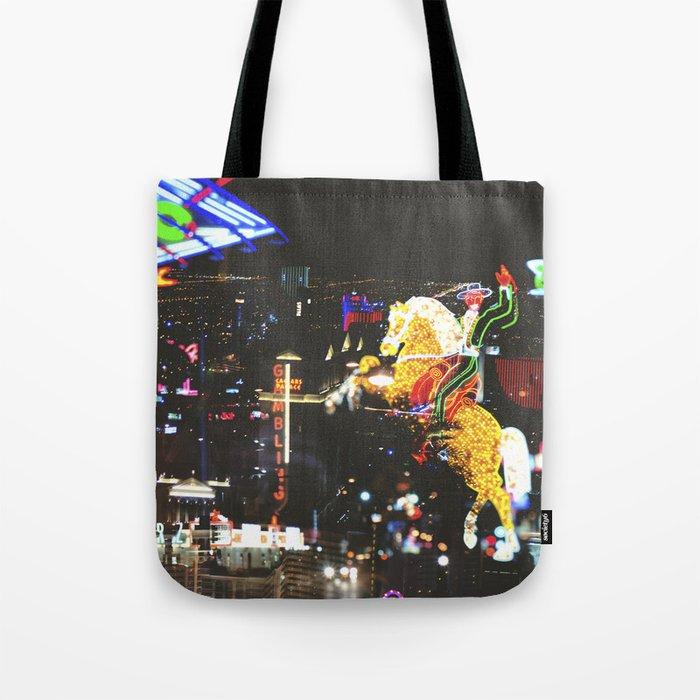 Vegas Night Life Tote Bag