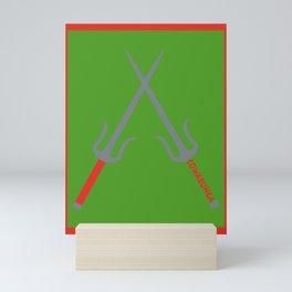 Cowabunga (Raphael Version) Mini Art Print