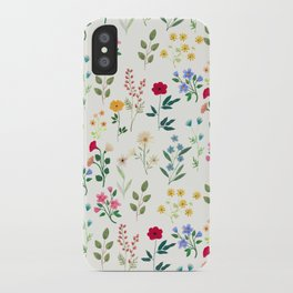 Spring Botanicals iPhone Case