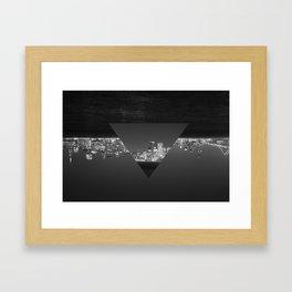 SF upside down Framed Art Print