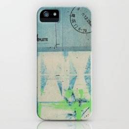 Ragmatap iPhone Case