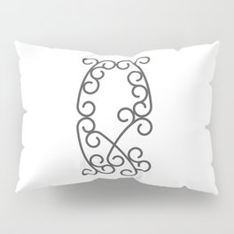 "Letter ""Q"" in beautiful design Fashion Modern Style Pillow Sham"