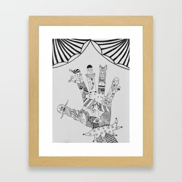 Buratino Framed Art Print