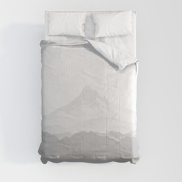 Ultimate Gray 2021 Color Of The Year Pantone Mountains Adventure Comforters