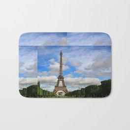 Eiffel Tower Day Bath Mat