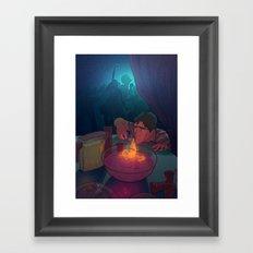 The love potion Framed Art Print