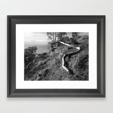 Divining Rod Framed Art Print