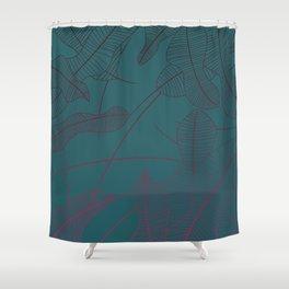 Nature - Gradient Shower Curtain