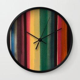 Serape 1 Wall Clock