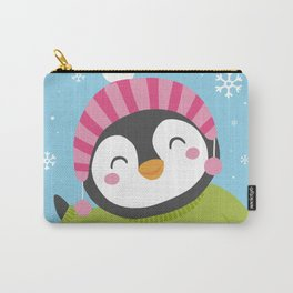 Cute Penguin Carry-All Pouch