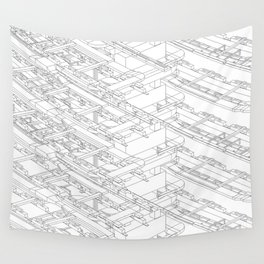 HVAC Wall Tapestry
