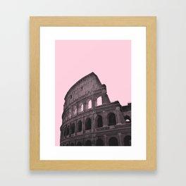 Millennial Colosseum Framed Art Print