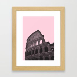 Millennial Colosseum Framed Art Print