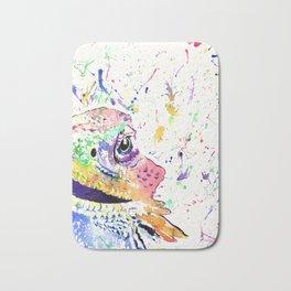 Bearded Dragon in full colour Bath Mat