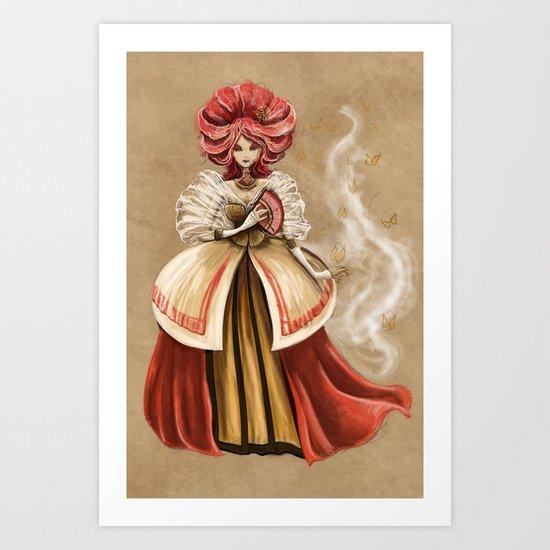 Her Majesty Art Print