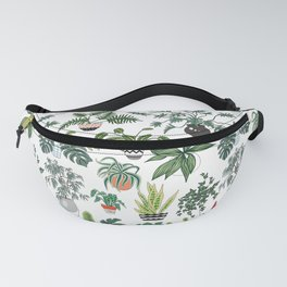 plants and pots pattern Fanny Pack