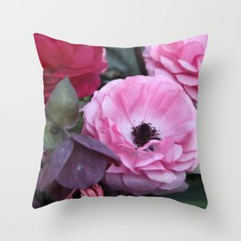 The Softest Pink Throw Pillow