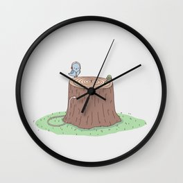 Sweet Sounds Of Nature Wall Clock