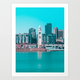 Surreal Montreal 12 Art Print