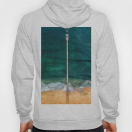 AERIAL - SHOT - OF - GRAY - DOCK - ON - BODY - OF - WATER - PHOTOGRAPHY Hoody