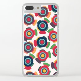 Colorful toys Clear iPhone Case