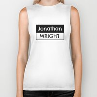 logo Biker Tanks featuring Logo by Jonathan Wright Productions