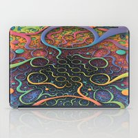 creepy iPad Cases featuring Creepy Crawlers  by Lyle Hatch