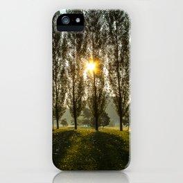 Penn State Arboretum iPhone Case