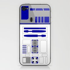 Star Wars R2D2 Vector iPhone & iPod Skin