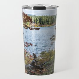 Splashes of Color Around Clear Lake Travel Mug