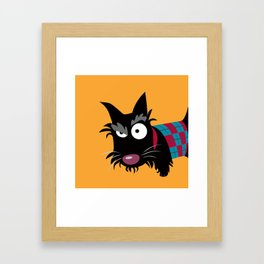 Scottish Terrier Framed Art Print