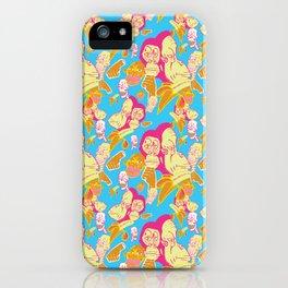 Electric Banana Monkey iPhone Case