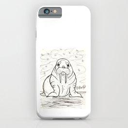 Wonderful Walrus iPhone Case