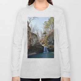 Alone in Secret Hollow with the Caves, Cascades, and Critters, No. 17 of 21 Long Sleeve T-shirt