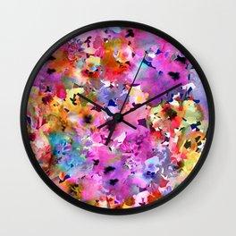 Sunshine Garden Wall Clock