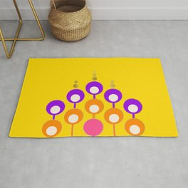Groovy bubbles Rug