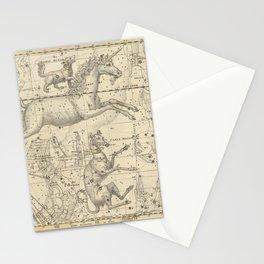 Alexander Jamieson - Celestial Atlas 1822 Plate 25 Canis Major & Monoceros Stationery Cards