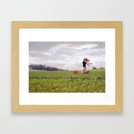 Feel Free... Framed Art Print