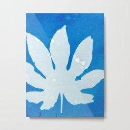 Colored Leaf Metal Print