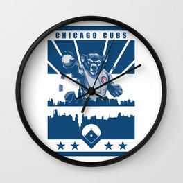 THE NORTH SIDE W Wall Clock