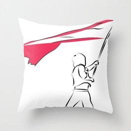 Les miz - to freedom Throw Pillow