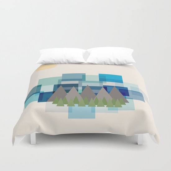 Daytime Adventures Duvet Cover