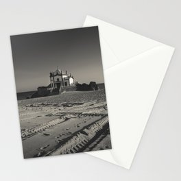 Beach Chapel (B&W) Stationery Cards