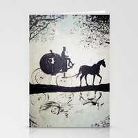 cinderella Stationery Cards featuring Cinderella  by Lamont Powell