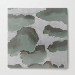 Gray Sky Metal Print