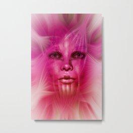Star Face Metal Print