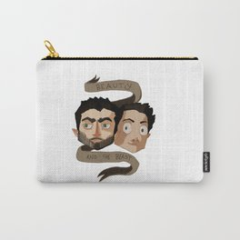 The Beauty and the Beast [Sterek] Carry-All Pouch